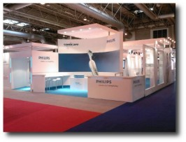 EXPERIENTIAL: Trade show/exhibition stand: Philips Sonicare FlexCare launch