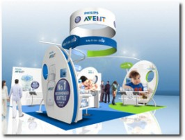 EXPERIENTIAL: Exhibition stand: Philips AVENT