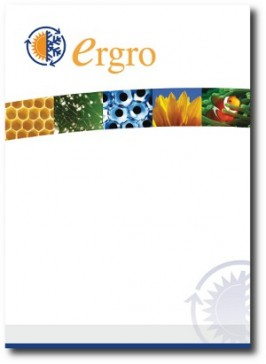PRINT: Product & services catalogue / Corporate brochure: Ergro