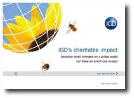 E-COMMS / PRINT: iPDF and printed brochure: IGD Impact Report 2011