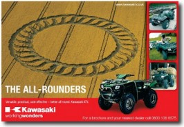 ADVERTISING: Consumer/Trade press: Kawasaki
