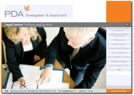 E-MARKETING/COMMS: Interactive PDF: PDA legal services
