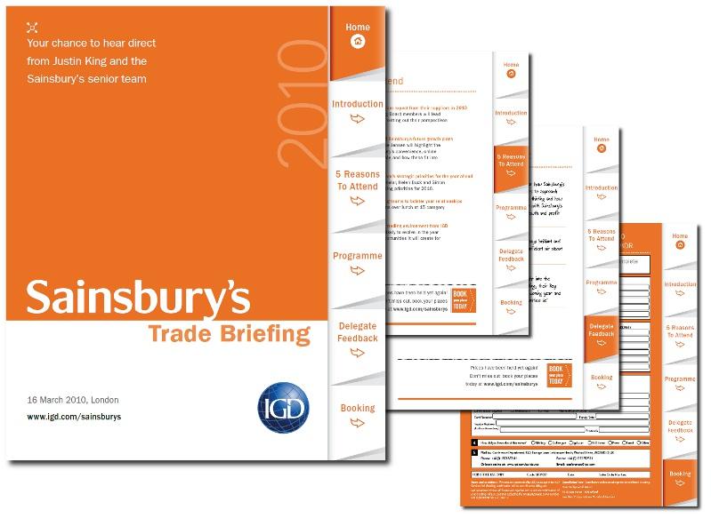 EMARKETINGCOMMS Interactive sales brochure concept IGD trade – Sales Brochure