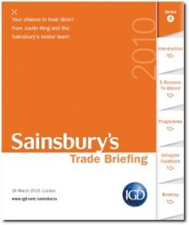 E-MARKETING/COMMS: Interactive sales brochure [concept]: IGD trade briefing