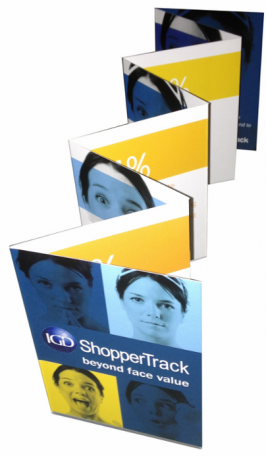 PRINT: Micro-brochure: IGD Shoppertrack