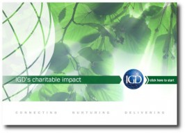 E-COMMS: interactive PDF: IGD Impact Report 2012