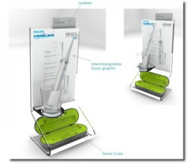 PRODUCTION: Point Of Purchase unit: Philips Sonicare