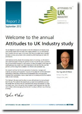 E-COMMS / PRINT: Download and printable PDF: Attitudes To UK Industry study