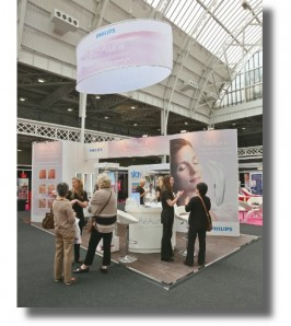 EXPERIENTIAL: Trade show/exhibition stand: The Anti-Ageing Show