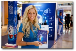 EXPERIENTIAL: Shopping centre roadshow: Philips at Westfield